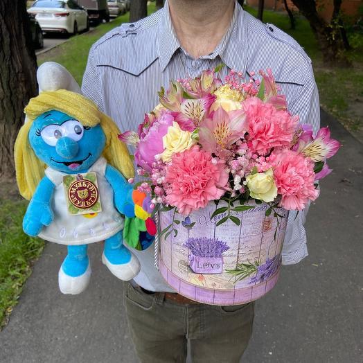 Комби 1 Весенний микс: букеты цветов на заказ Flowwow