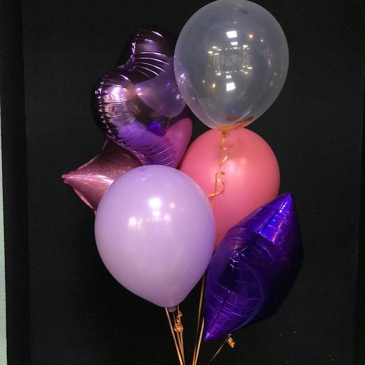 6 воздушных шаров