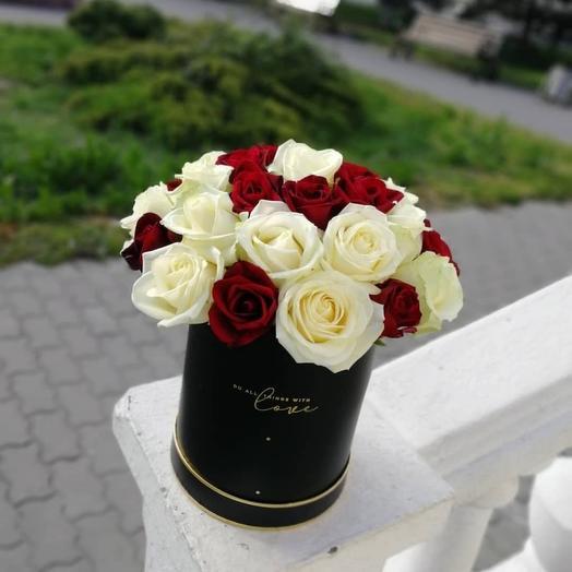 ✅ Розы в цилиндре 🌹 Хит