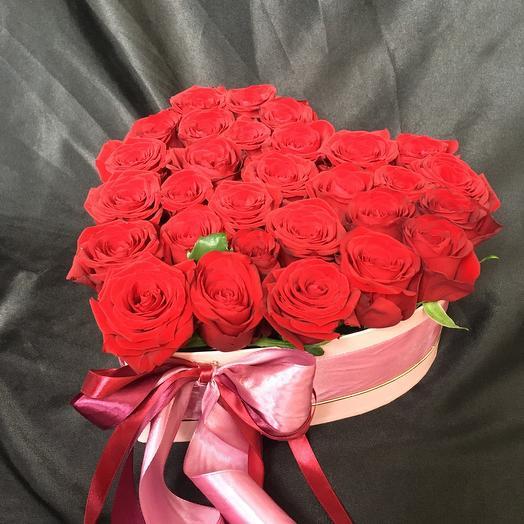 Цветы в коробке 5