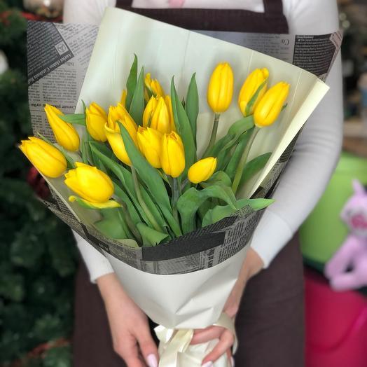 Букет тюльпан 15
