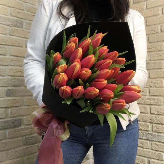 25 Элитных тюльпанов
