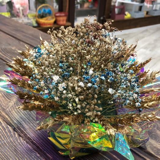 Сухоцветы Золото