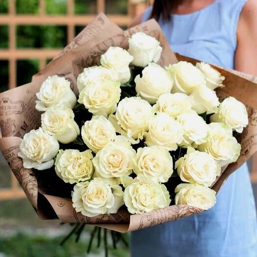 Розы Мондиаль (эквадор) 50-60см