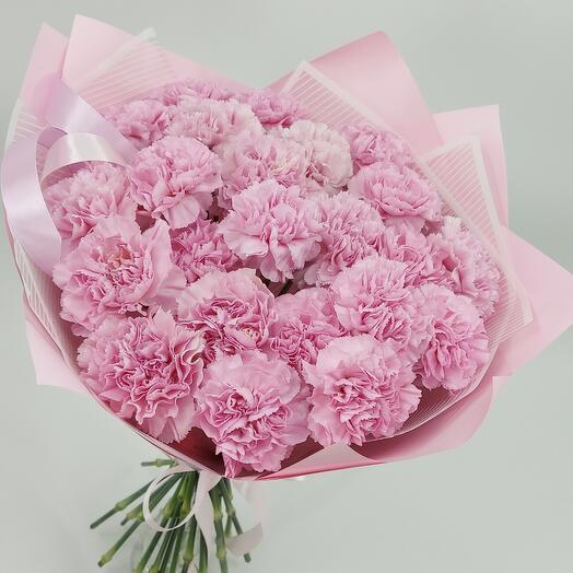 Розовые диантусы XL