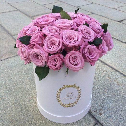 Hatbox из 39 роз