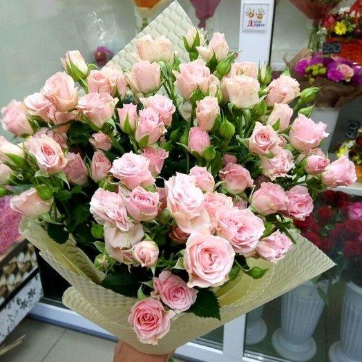Нежное облако) ): букеты цветов на заказ Flowwow