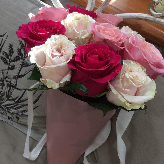 Сочный ягодный микс: букеты цветов на заказ Flowwow