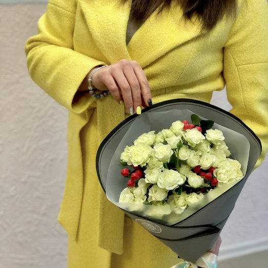 Spice White: букеты цветов на заказ Flowwow