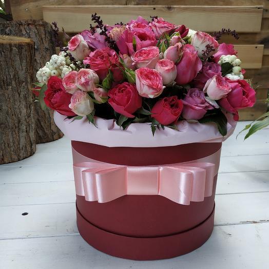 Нежный пудинг: букеты цветов на заказ Flowwow