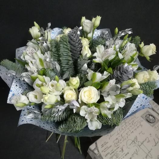 Зимняя свежесть: букеты цветов на заказ Flowwow