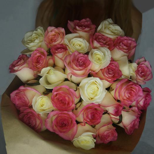 Букет из 29 роз: букеты цветов на заказ Flowwow