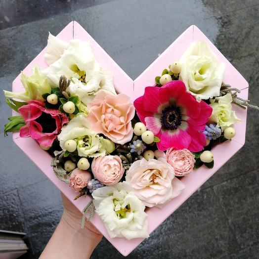 Сердце Джульетты: букеты цветов на заказ Flowwow
