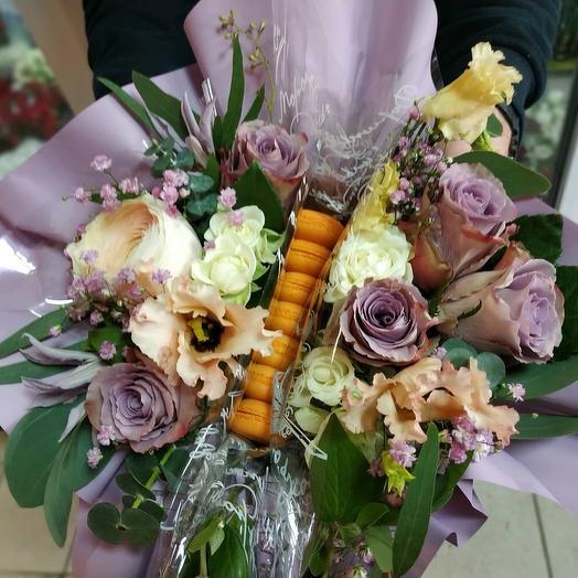 Сладкий секрет: букеты цветов на заказ Flowwow