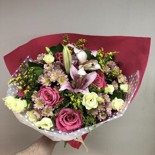 Яркие краски🌸: букеты цветов на заказ Flowwow