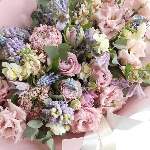 Из Парижа с любовью: букеты цветов на заказ Flowwow