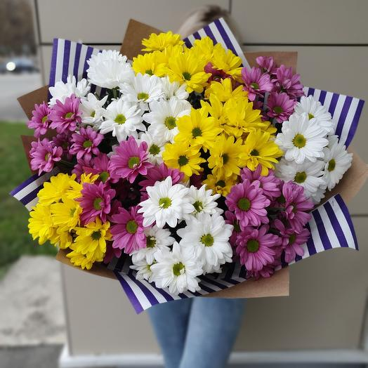 Ромашки с Любовью: букеты цветов на заказ Flowwow