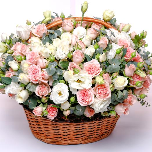 """Корзина """"Сады Версаля"""": букеты цветов на заказ Flowwow"""