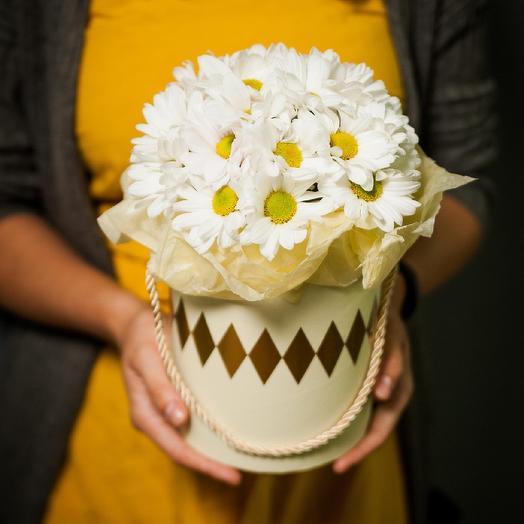 Ромашковый холм: букеты цветов на заказ Flowwow