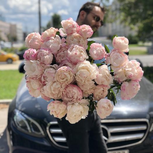 27 невероятных пионов: букеты цветов на заказ Flowwow