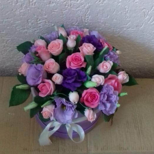 """Сиреневый вечер"": букеты цветов на заказ Flowwow"