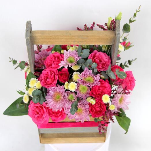 """""""Цветочный ящик"""": букеты цветов на заказ Flowwow"""
