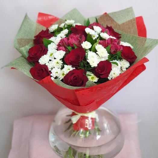 Классика в деталях: букеты цветов на заказ Flowwow