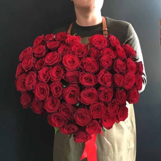 Алое сердце 🌿: букеты цветов на заказ Flowwow