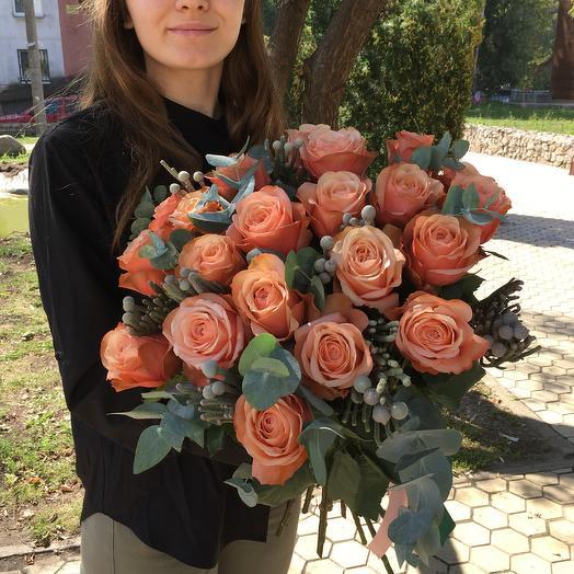 Букет «luxury»: букеты цветов на заказ Flowwow
