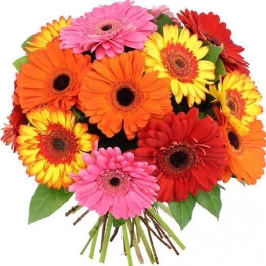 """Букет гербер """"Вспышка"""": букеты цветов на заказ Flowwow"""
