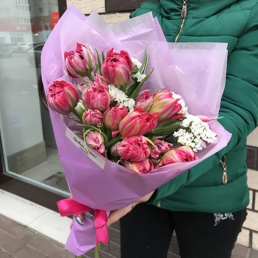 Peony tulips: flowers to order Flowwow