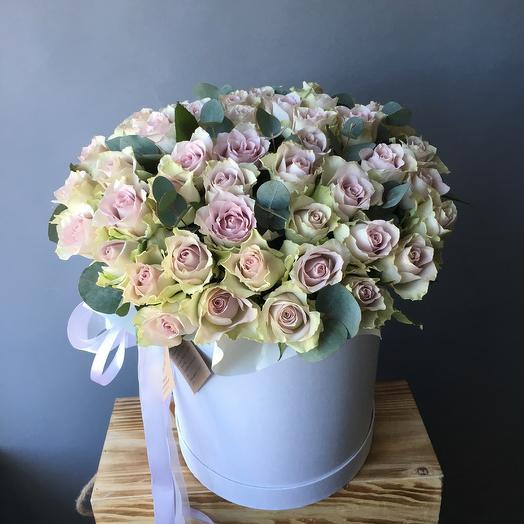 Лавандовые розы: букеты цветов на заказ Flowwow