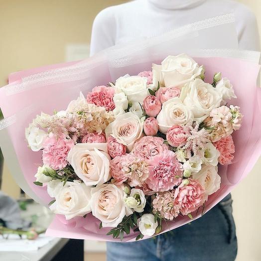 """Букет """"Ажурные мотивы"""": букеты цветов на заказ Flowwow"""
