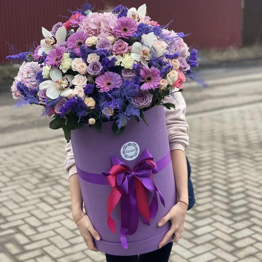 Коробочка «день влюблённых»: букеты цветов на заказ Flowwow