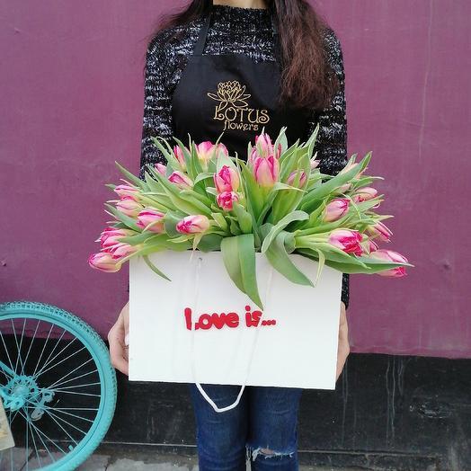 Love is 1: букеты цветов на заказ Flowwow