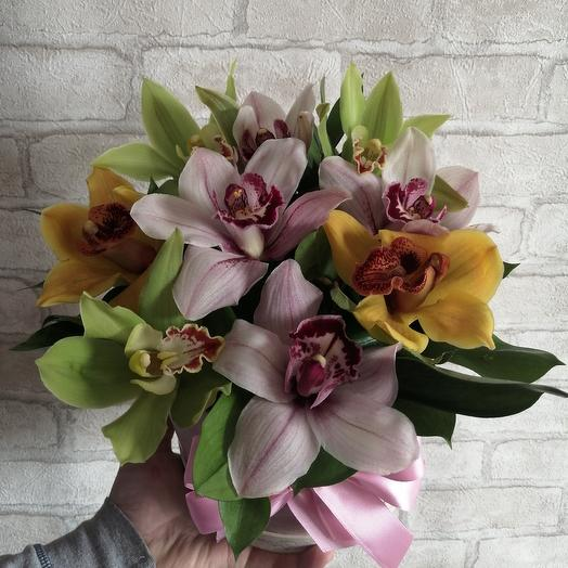 Box Orchid mix: flowers to order Flowwow