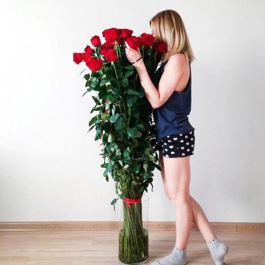 Гигантские розы 140см (21шт)
