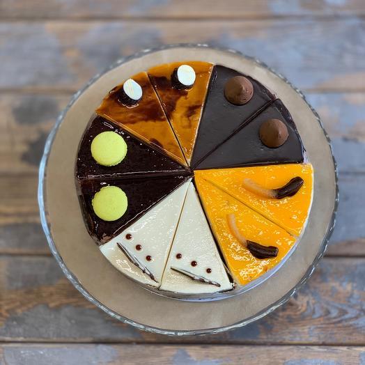 Торт «большое шоколадное ассорти»: букеты цветов на заказ Flowwow