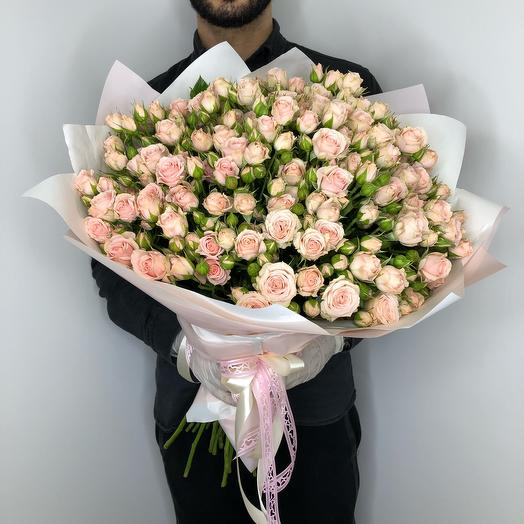 A large bouquet with lots of love