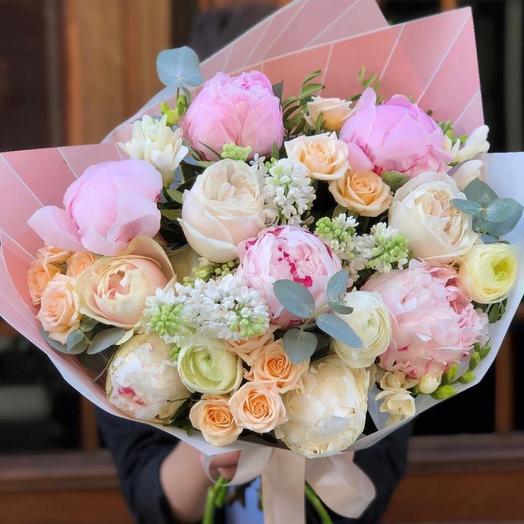 "Букет цветов ""Улыбка ангела"""