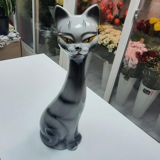 Дымчатый котик 40 см