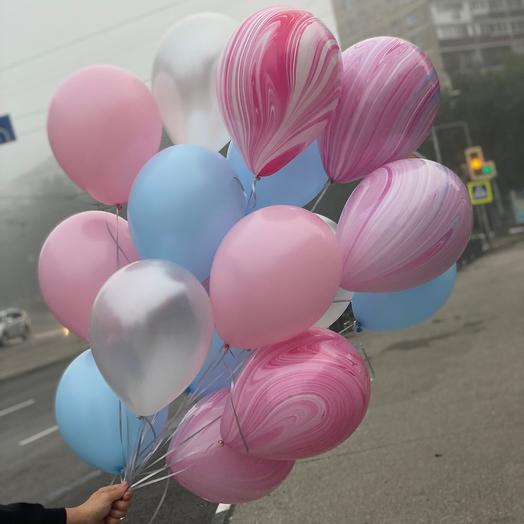Сет из 15 воздушных шаров