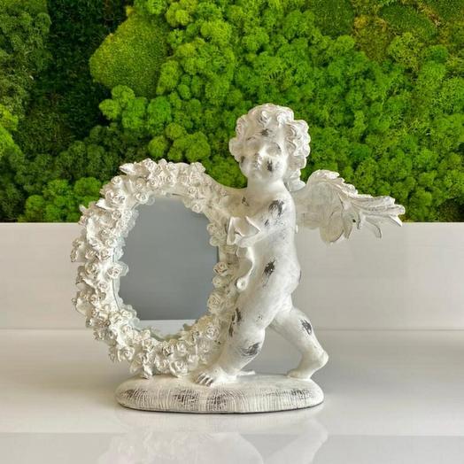 Зеркало с ангелом