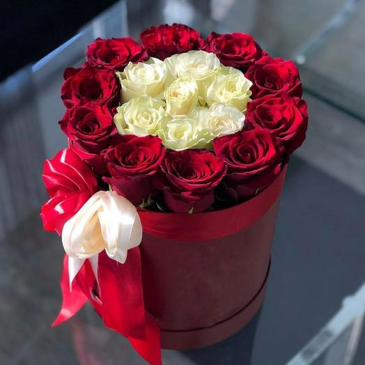 Roses in a box