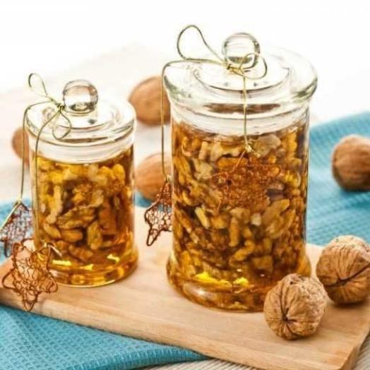 Настройка ореховая на мёд 500 гр