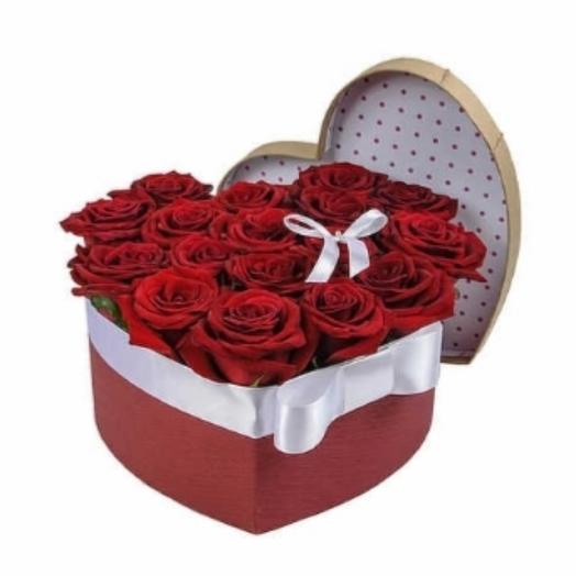 Цветы в коробке 💓