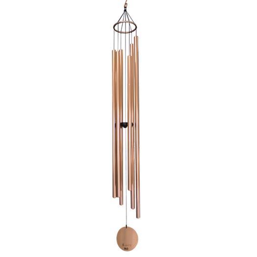 Ветренные колокольчики 6 труб 115 см серебро