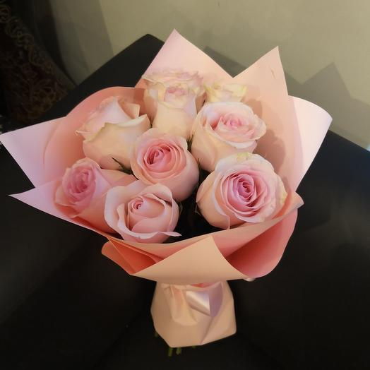 Букет из розовых роз🥰