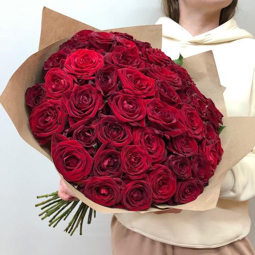 51 красная роза Ред Наоми