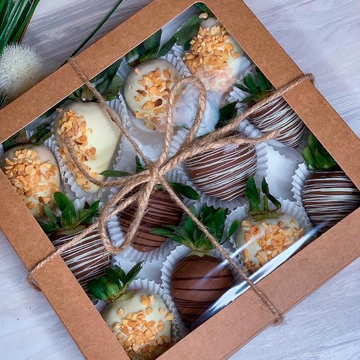 Набор клубника в Шоколаде Шик
